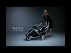 Britax B-READY Demo. See the Britax B-READY modular stroller transform into some of its 14 different configurations, including a double stroller.