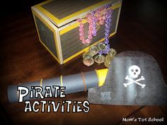 Mom's Tot School: Pirates!