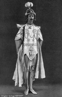 """The """"Dancing Marquess of Anglesey"""" in fancy dress costume. He died bankrupt in Monte Carlo in 1904, aged 30, with debts of £ 544,000 (the equivalent of over £ 30million today), leaving a wardrobe that featured 260 pairs of kid gloves, 200 gold 'scarf pins' and 100 dressing gowns."""