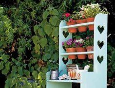 bench plan, garden station, pot bench, potting benches, pot shelv, display plant, garden idea, fun, diy