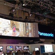 Panasonic booth at NABShow 2012