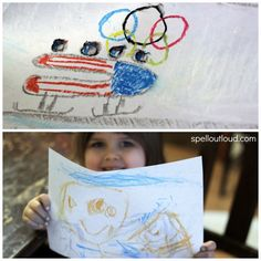 winter olympics, spell outloud, art tutori, tutori showcas, olymp 2014, olymp chalk, chalk art