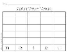 Roll a Short Vowel