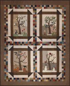 4 Seasons quilt / wall hanging