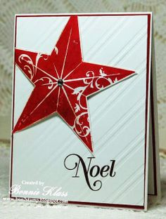 Stamping with Klass: Christmas Star for Merry Monday