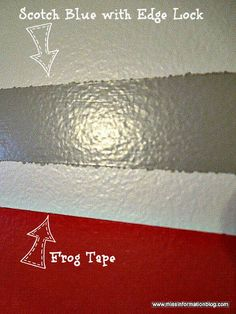 Miss Information: How to Paint a Striped Wall and a Painters Tape Comparison