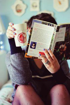 #coffee #book #reading