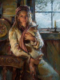 Daniel Gerhartz ~ 'Winter's Warmth'