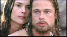 Brad Pitt & Julia Ormond from Legends of the Fall (1994) - Loved this movie.