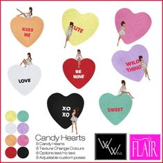 WWinx & Flair - Candy Hearts Vendor | Flickr - Photo Sharing!