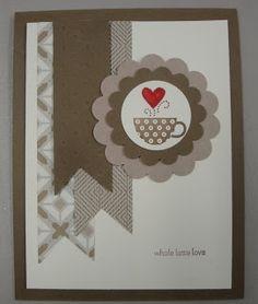 card idea, craft time, coffe card, card 2013, creat card, craft idea, coffee cards, craft project, cardsstampin idea