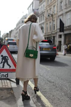 The REBEL bag spotted at London Fashion Week