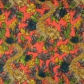 Found it at DwellStudio - Ming Dragon Fabric - Persimmon