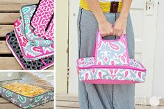 Keep it Hot - Casserole Carriers for 70% Off! pickyourplum.com #casserolecarrier