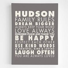 decor, wall art, rule wall, gifts, person famili, famili rule, families, gift idea, family rules