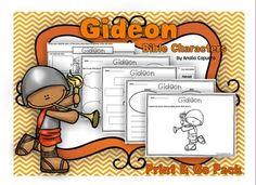 Gideon - Print & Go Packet. 3.00