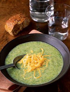 #Recipe: Broccoli & Cheese Soup.