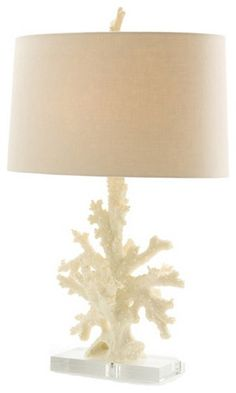 Boca Coral Lamp eclectic table lamps | Cuteso.com