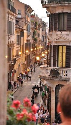 Piazza di Spagna, Rome, Italy.
