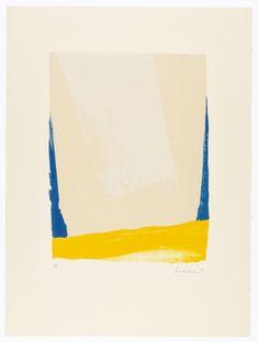 """Helen Frankenthaler """"White Portal"""""""