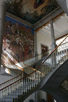 Interior del Castillo de Chapultepec. México D: F:
