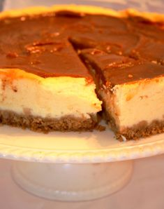 Caramel Cheese Cake~for Shavout!