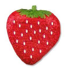 perfect strawberry piñata