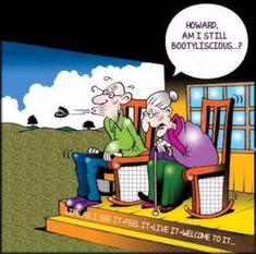 Over the Hill, Getting Old, Senior Citizen Humor - Old age jokes cartoons and funny photos