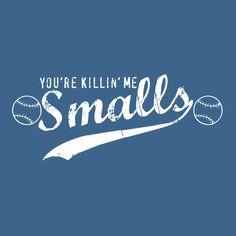 YOU'RE KILLIN' ME SMALLS T-SHIRT(WHITE INK)