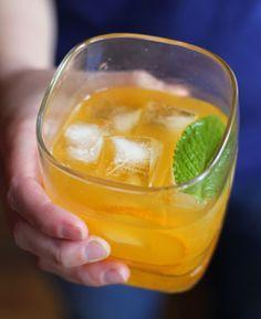Tangerine Mint Sparkling Margarita | SAVEUR