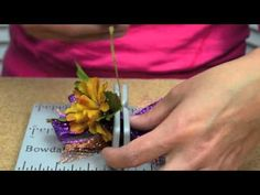 Fall Gift Bag with Mini Bowdabra Bow Tutorial - YouTube