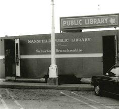 Mansfield/Richland County (Ohio) Public Library, branchmobile, ca. 1980.