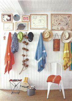 hallway inspiration, #CLShowhouse #coastaldesigner