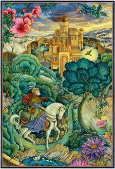 wastelandwild:  Fairy Tale illustration by Laurel Long