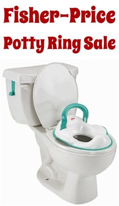 Fisher-Price The Perfect Potty Ring Sale: $10.00! - perfect for potty training time
