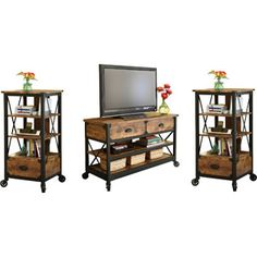 Rustic Entertainment Centers On Pinterest Barn Wood
