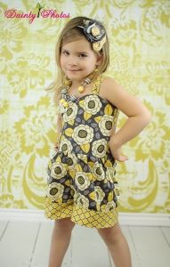 Raynas Retro Romper PDF Sewing Pattern by Create Kids Couture