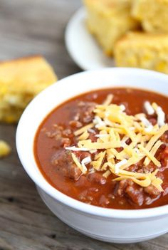 Dad's Spicy Chili