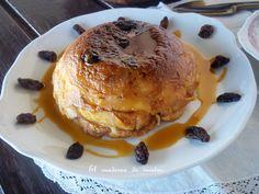 El cuaderno de recetas: Pudin de Pan y Mantequilla { Bread and Butter Pudding }