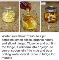 Winter Sore Throat Tea