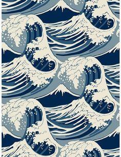 Cole & Son Wave Wallpaper