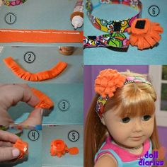Make an Easy Duck Tape Headband with Add-Ons for Dolls