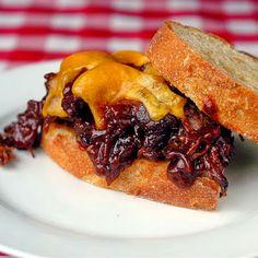 Braised BBQ Beef Sandwiches
