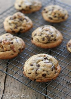 Soft, Chewy, Thick Chocolate Chip Cookies
