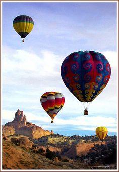 More hot air balloon dreams