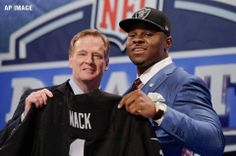 UB is rocking! Our own Khalil Mack heads for Oakland Raiders. 5th pick overall. 1st UB player EVER to be taken in 1st or 2nd NFL draft round! #ubuffalo #MACKtion #nfl http://www.nfl.com/videos/nfl-draft/0ap2000000348087/Raiders-select-Mack-with-No-5-pick
