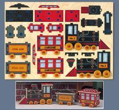 Choo Choo Train Puzzle