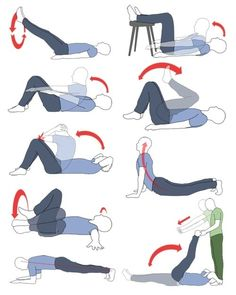 tight hip flexors buttock pain
