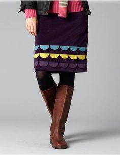 Boden Petal Skirt