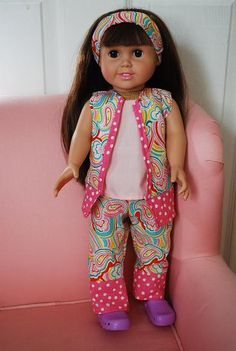 Simple Bliss: 18'' free doll clothes pattern